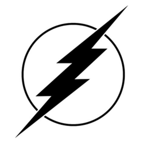 Flash Symbol Outline by The Flash Symbol Stencil Free Stencil Gallery