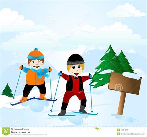 Ski School School ski school stock image image 13064041
