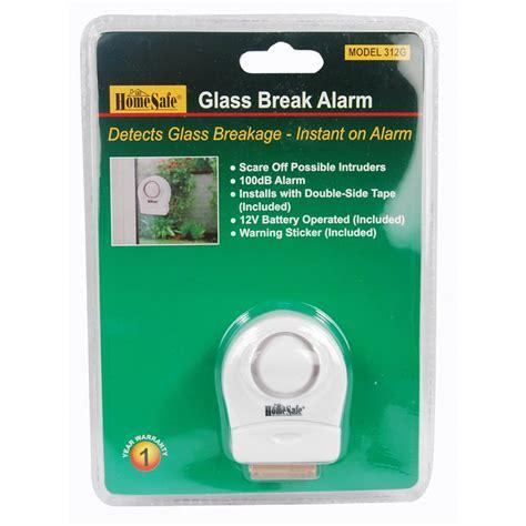 homesafe 174 wireless window glass alarm 100db the