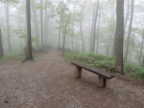 blue bench trails gone hikin blue ridge parkway va humpback rocks and