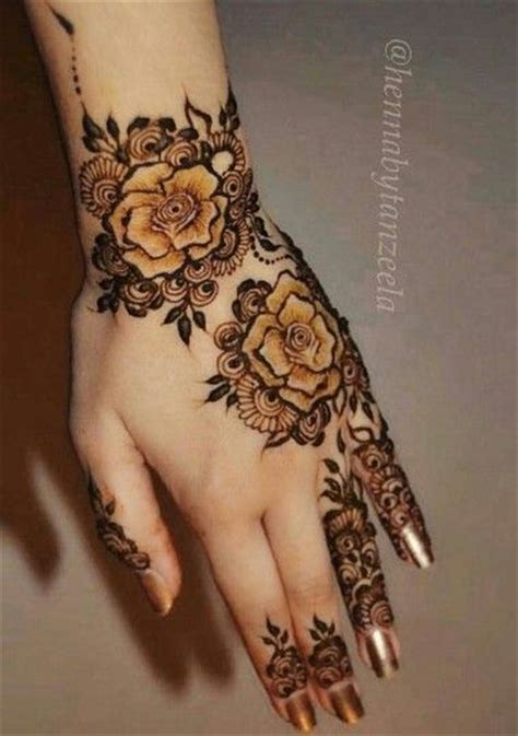 henna tattoo rose designs 15 mehndi designs to rock this eid brandsynario