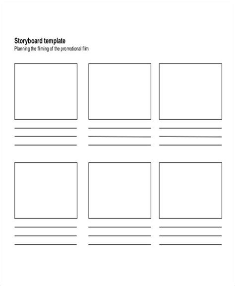 7 movie storyboard free sle exle format download