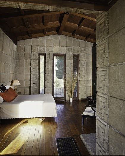 ennis house interior ennis house bedroom interior exterior accouterments pinterest