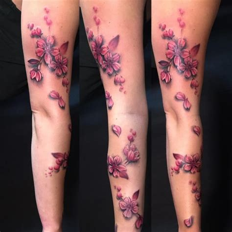 cherry blossom sleeve tattoo designs 75 fantastic japanese cherry blossom designs