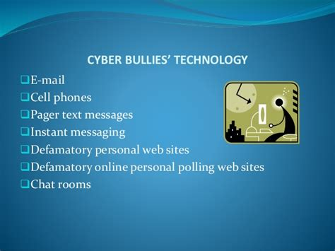 cyber chat rooms cyberbullying
