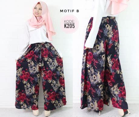 Kulot Motif Bahan Linen Kpc 100 florist culot linen k205 baju style ootd