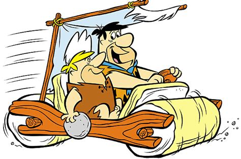 Feuerstein Auto by The Flintstones Car Top 10 Fictional Cars Time