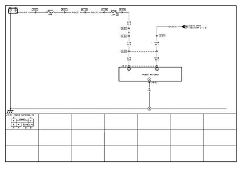 repair guides power antenna 2001 power antenna wiring diagram autozone