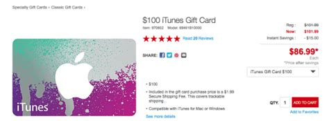 Staples Itunes Gift Card - staples itunes 100 gift card discounted points miles martinis