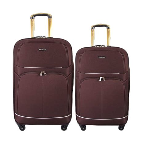 Real Polo Tas Koper Softcase Expandable 588 24 Inch 4 Roda Putar Jual Real Polo Koper Expandable 581 Trolley Bag Coffee