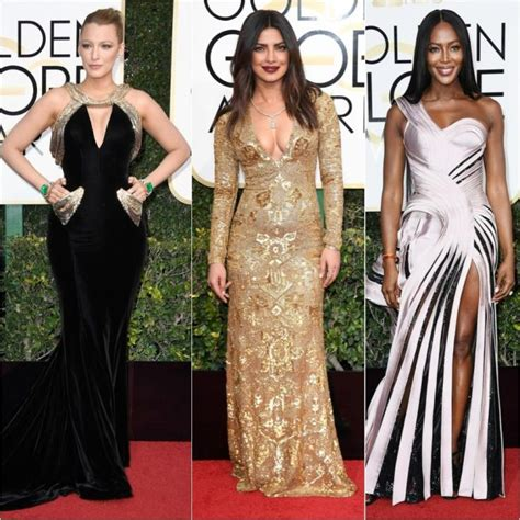 Top 5 At Golden Globes Award Show by Golden Globes 2017 Recap Of The Best Dressed