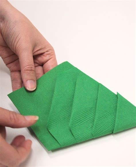 Easy Paper Napkin Folding - 1000 ideas about tree napkin fold on