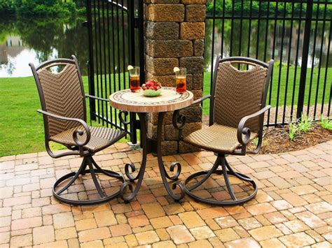 Patio Bistro Sets With Umbrella ? Jacshootblog Furnitures