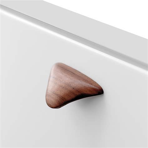 Walnut Kitchen Door Knobs by Buy Wood Walnut Lacq Cabinet Knob In India Furnipart