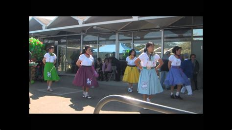 doelgers october  poodle skirt dance youtube