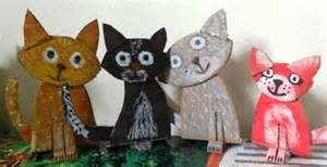 how to make a cat out of paper http ttcrafts how to