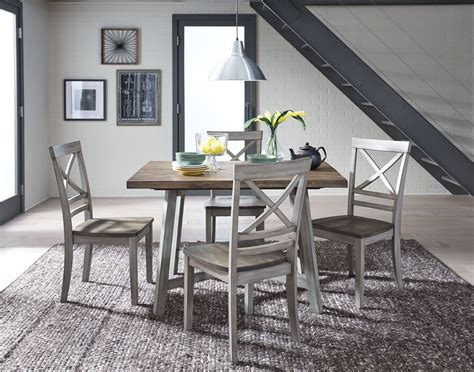 rustic grey dining table fairhaven rustic grey dining table set from standard