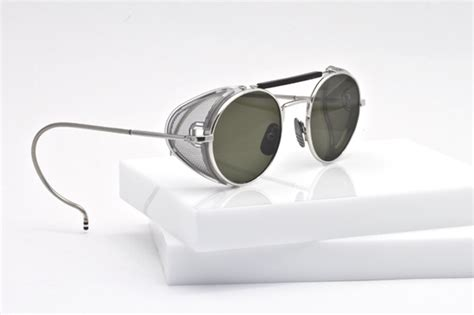 Thom Metal Silver by Thom Browne Eyewear Dan Optical Outlook