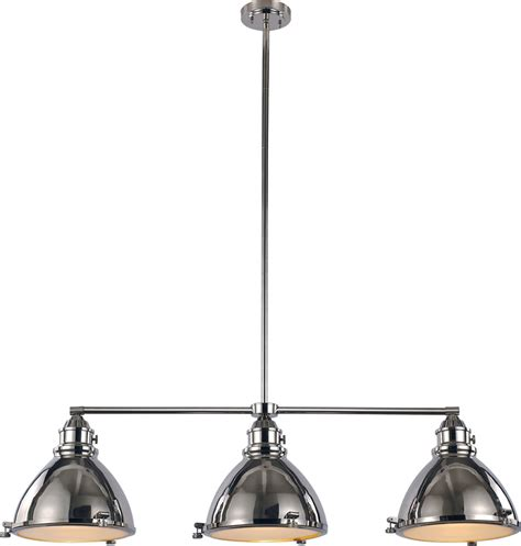 nautical kitchen lighting trans globe pnd 1007 pn vintage nautical polished nickel