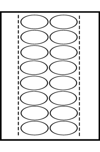 Avery 174 Style Edge 5 Tab Insertable Dividers 11200 Template Avery Printable Tabs Template