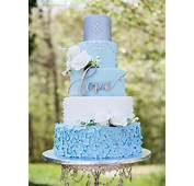 25  Best Ideas About Blue Wedding Cakes On Pinterest