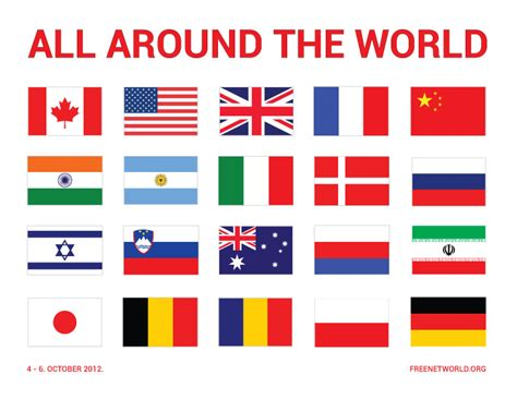 all around the world freenetworld