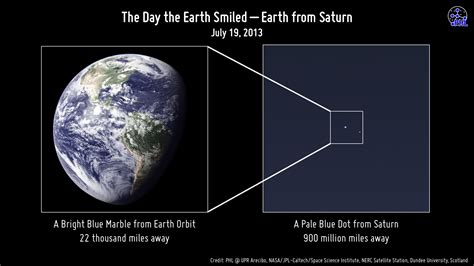 earth as seen from saturn could cassini see you on quot the day the earth smiled