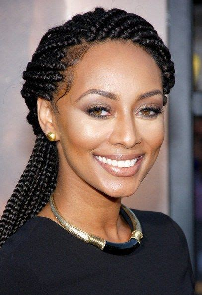 what type of hair does keri hilson have keri hilson lovely box braids simpatico pinterest