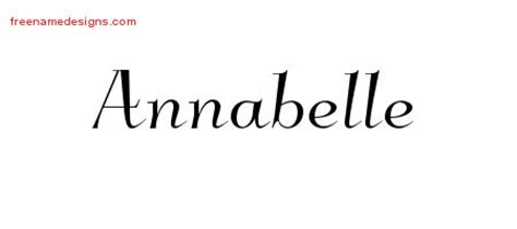 annabelle tattoo font generator elegant name tattoo designs annabelle free graphic free