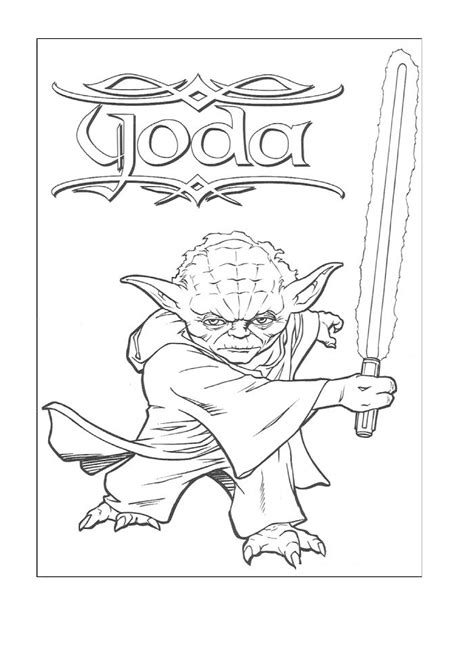 printable coloring pages star wars free coloring pages of yoda head