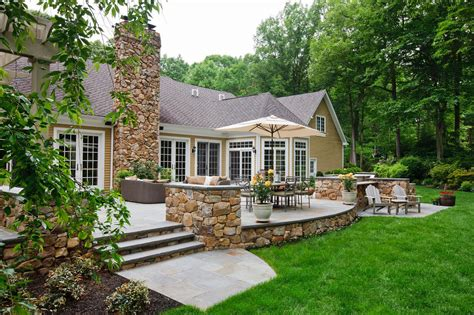 backyard architect spanish influenced backyard patio beechwood landscape