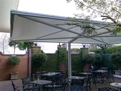 Backyard Shade Solutions by Hospitality Shade Solutions Umbrellas Blinds For Cafes