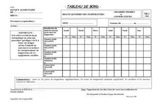 tableau de bord hygi 232 ne et s 233 curit 233 alimentaire fiche tb1