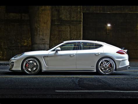 Porsche W V by Vorsteiner Porsche V Pt Panamera Side Wallpapers