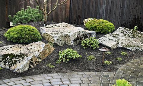 lawn garden mesmerizing small japanese rock garden design