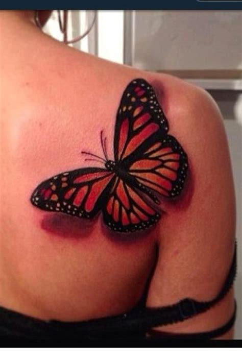 Thinking About A Butterfly Tattoo On Right Shoulder Blade Butterfly Tattoos On Shoulder Blade