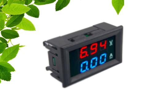 Dual Digital Voltmeter Plus Ammeter Er Meter cara memasang dual digital voltmeter plus ammeter