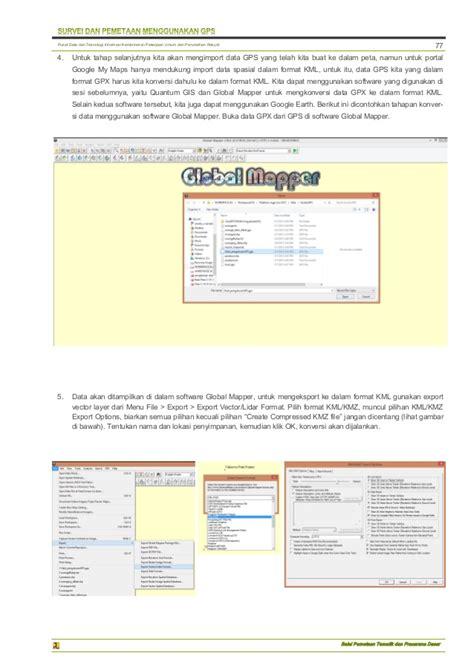 membuat akun google maps modul gis qgis diklat gps dan gis bpsdm kementerian pupr