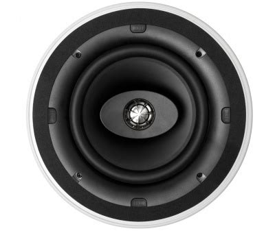 Kef Ci200cr In Ceiling Speaker White 4 Pack Leconcepts Samsung Ceiling Speakers