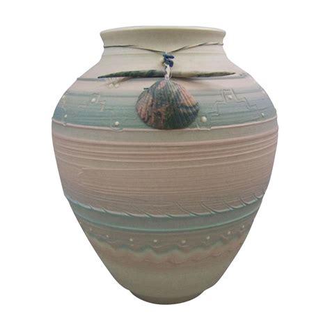 debra swauger southwestern porcelain clay pueblo vase with