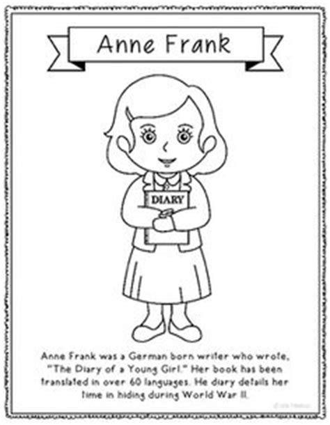 anne frank mini biography video alexander graham bell coloring page craft or poster stem