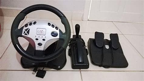 joystick volante volante joystick p pc e playstation 2 r 75 00 em