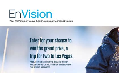 Vsp Envision Sweepstakes - sweepstakes giveaways contests sun sweeps