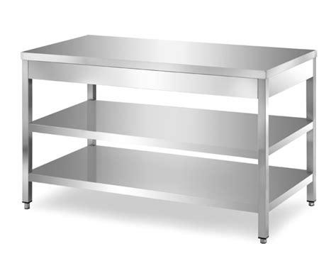 tavolo acciaio inox prezzi tavoli in acciaio inox su gambe ondainox