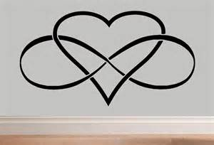 Infinity Heartbeat Infinity Infinity Symbol Wall Decal By