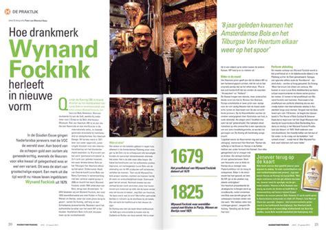 layout på artikel marketing tribune the wynand fockink rejuvenation