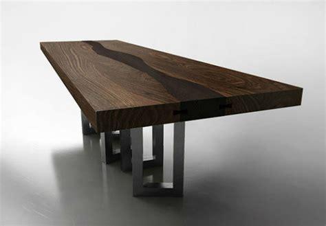 unique dining table find 5 unique wood dining tables interior decoration