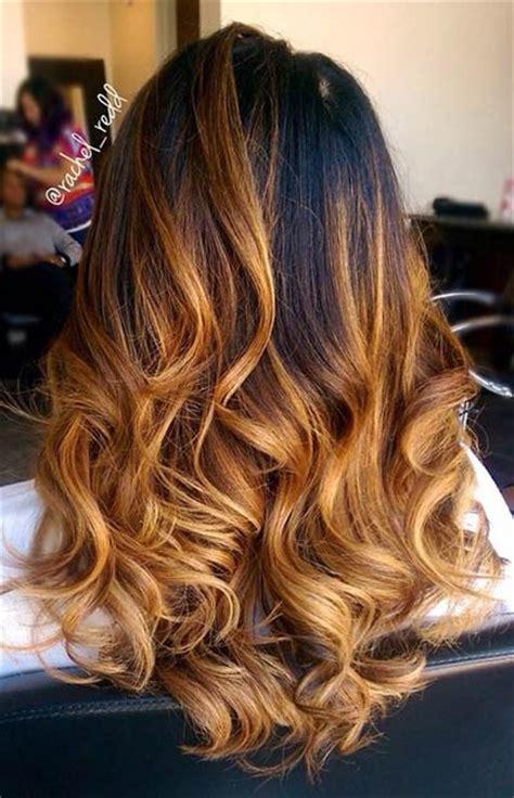 honey brown haie carmel highlights short hair honey caramel balayage