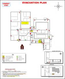 Evacuation Plan Template For Office by Office Building Evacuation Plan Evacuation Plans