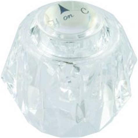 one legend tub handle w screw button one escutcheon acrylic tub shower faucet handle delta crystal handle